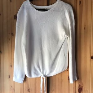 Lucky Brand Tie Front Sweater